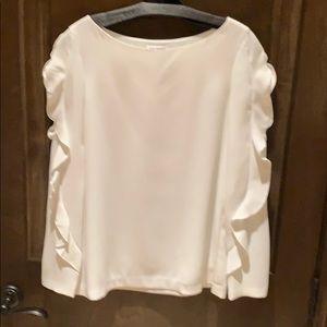 Club Monaco long sleeved blouse